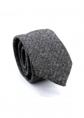 Skangen Narrow Wool Neck Tie Neck Tie SKTI-W-003 -