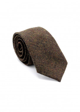 Skangen Narrow Wool Neck Tie Neck Tie SKTI-W-013 -