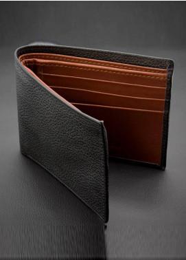 Skangen Natural Milled Premium Cow Leather Textured Wallets SKWT-1006 - Men's Accessories