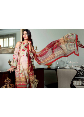 Noor by Saadia Asad Embroidered Cotton Unstitched 3 Piece Suit SN16E 07