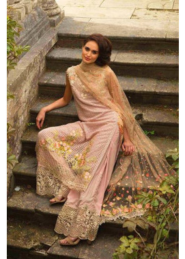 Sobia Nazir Embroidered Chiffon Unstitched 3 Piece Suit SN17E 10