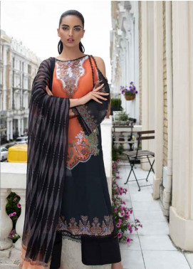 Sobia Nazir Embroidered Lawn Unstitched 3 Piece Suit SN20L 4A - Summer Collection