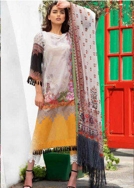 Sobia Nazir Embroidered Lawn Unstitched 3 Piece Suit SN20L 7B - Summer Collection