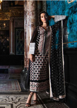 Sobia Nazir Embroidered Organza Unstitched 3 Piece Suit SN19-E2 1A - Festive Collection