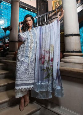 Sobia Nazir Embroidered Cotton Net Unstitched 3 Piece Suit SN19-E2 4A - Festive Collection