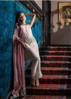 Sobia Nazir Embroidered Cotton Net Unstitched 3 Piece Suit SN19-E2 4B - Festive Collection