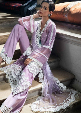 Sobia Nazir Embroidered Cotton Net Unstitched 3 Piece Suit SN19-E2 5A - Festive Collection
