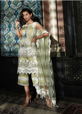 Sobia Nazir Embroidered Cotton Net Unstitched 3 Piece Suit SN19-E2 5B - Festive Collection