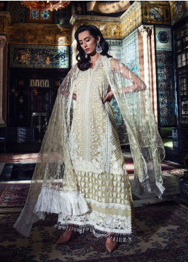 Sobia Nazir Embroidered Organza Unstitched 3 Piece Suit SN19-E2 6A - Festive Collection