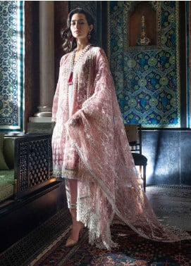 Sobia Nazir Embroidered Organza Unstitched 3 Piece Suit SN19-E2 6B - Festive Collection