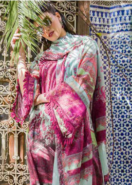 Sobia Nazir Embroidered Lawn Unstitched 3 Piece Suit L20SN 14-A GREEN - Luxury Collection