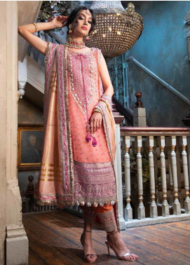 Sobia Nazir Embroidered Organza Unstitched 3 Piece Suit SN19F 05 - Festive Collection