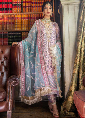 Sobia Nazir Embroidered Organza Unstitched 3 Piece Suit SN19F 06 - Festive Collection
