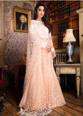Sobia Nazir Embroidered Net Unstitched 3 Piece Suit SN19F 07 - Festive Collection