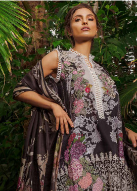 Sobia Nazir Embroidered Lawn Unstitched 3 Piece Suit SN19L 13B - Spring / Summer Collection