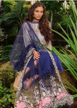 Sobia Nazir Embroidered Lawn Unstitched 3 Piece Suit SN19L 5B - Spring / Summer Collection