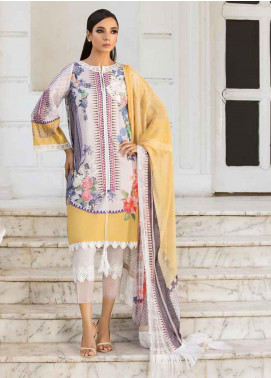 Sobia Nazir Embroidered Lawn Unstitched 3 Piece Suit SN19V 1A - Festive Collection