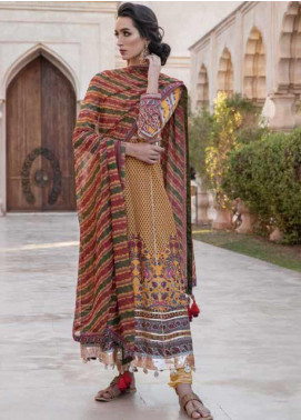 Sobia Nazir Embroidered Lawn Unstitched 3 Piece Suit SN20V 10B - Summer Collection
