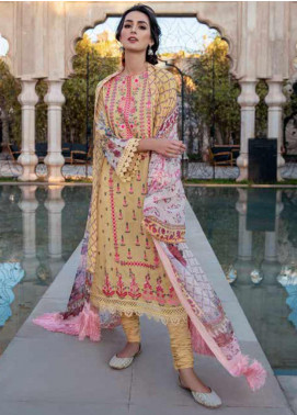 Sobia Nazir Embroidered Lawn Unstitched 3 Piece Suit SN20V 1A - Summer Collection