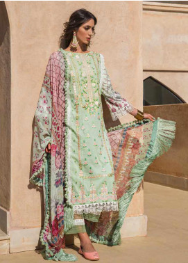 Sobia Nazir Embroidered Lawn Unstitched 3 Piece Suit SN20V 1B - Summer Collection