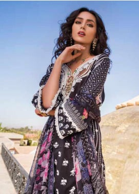 Sobia Nazir Embroidered Lawn Unstitched 3 Piece Suit SN20V 2A - Summer Collection