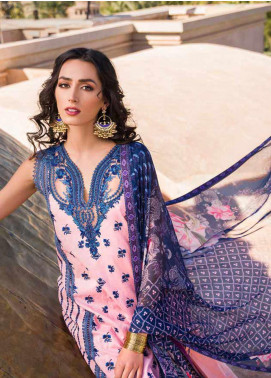 Sobia Nazir Embroidered Lawn Unstitched 3 Piece Suit SN20V 2B - Summer Collection