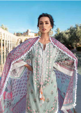 Sobia Nazir Embroidered Lawn Unstitched 3 Piece Suit SN20V 3A - Summer Collection