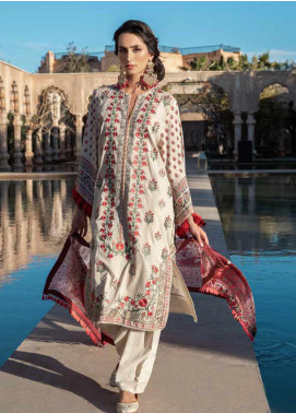 Sobia Nazir Embroidered Lawn Unstitched 3 Piece Suit SN20V 3B - Summer Collection