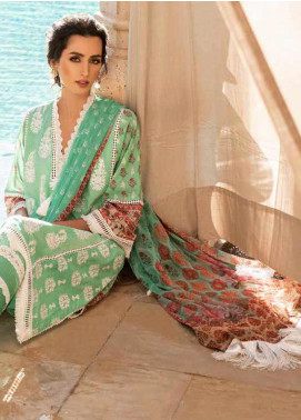 Sobia Nazir Embroidered Lawn Unstitched 3 Piece Suit SN20V 6B - Summer Collection