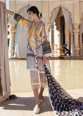 Sobia Nazir Embroidered Lawn Unstitched 3 Piece Suit SN20V 7B - Summer Collection