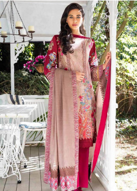 Sobia Nazir Embroidered Cotton Satin Unstitched 3 Piece Suit SN18W 5B - Winter Collection