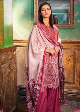 Sobia Nazir Embroidered Khaddar Unstitched 3 Piece Suit SN19W 4A - Winter Collection