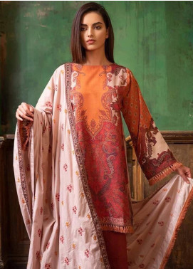 Sobia Nazir Embroidered Khaddar Unstitched 3 Piece Suit SN19W 6A - Winter Collection