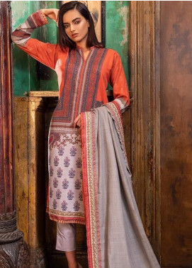 Sobia Nazir Embroidered Khaddar Unstitched 3 Piece Suit SN19W 5A - Winter Collection