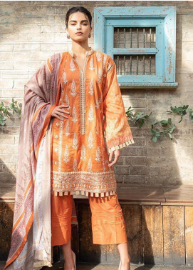 Sobia Nazir Embroidered Khaddar Unstitched 3 Piece Suit SN19W 3B - Winter Collection