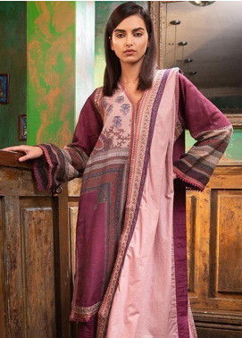 Sobia Nazir Embroidered Khaddar Unstitched 3 Piece Suit SN19W 5B - Winter Collection
