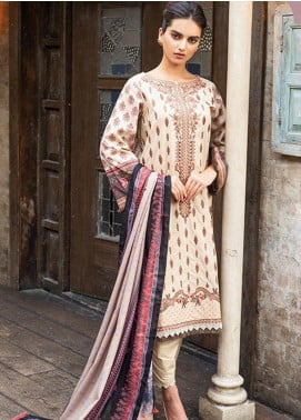 Sobia Nazir Embroidered Khaddar Unstitched 3 Piece Suit SN19W 1A - Winter Collection