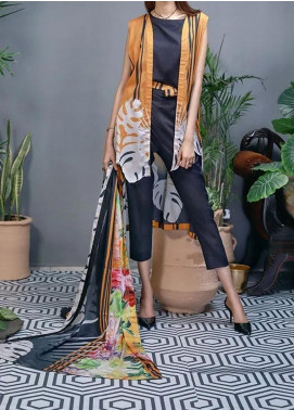 Soffio Printed Lawn Unstitched 2 Piece Suit SF20KH SK-066 - Summer Collection