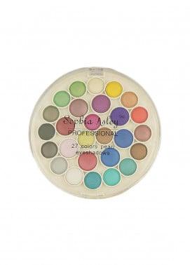 Sophia Asley 27 Colors Matte Eye Shadow Kit - Pearl