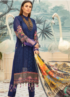 Sophia by Riaz Arts Embroidered Lawn Unstitched 3 Piece Suit RA20S 2 - Luxury Collection