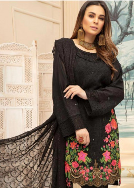 Sophia by Riaz Arts Embroidered Lawn Unstitched 3 Piece Suit RA20S 5 - Luxury Collection