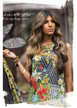 Sapphire Embroidered Lawn Unstitched Suit 3 Piece Suit SP17L2 Floral Mist A