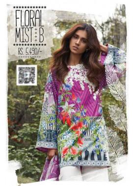 Sapphire Embroidered Lawn Unstitched Suit 3 Piece Suit SP17L2 Floral Mist B