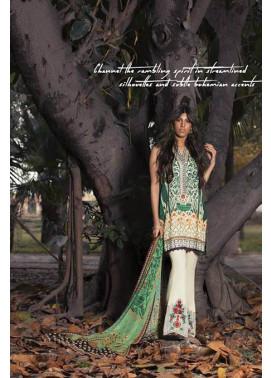Sapphire Embroidered Lawn Unstitched Suit 3 Piece Suit SP17L2 Summer Sovereign B
