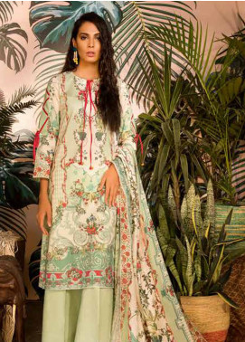 Sapphire Printed Cotton Unstitched 2 Piece Suit Granada A - Autumn - Fall Collection