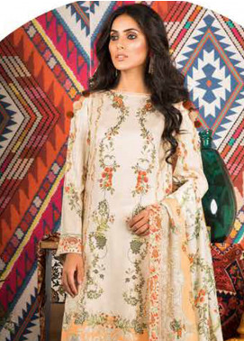 Sapphire Printed Cotton Unstitched 2 Piece Suit Granada B - Autumn - Fall Collection