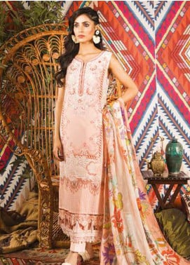 Sapphire Embroidered Cotton Unstitched 2 Piece Suit Native Persia  B - Autumn - Fall Collection