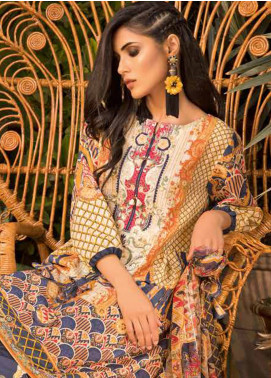 Sapphire Embroidered Jacquard Unstitched 3 Piece Suit Phulkari - Autumn - Fall Collection