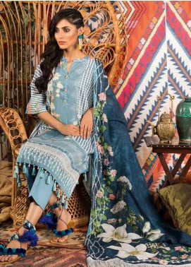 Sapphire Printed Cotton Unstitched 2 Piece Suit Pure B - Autumn - Fall Collection