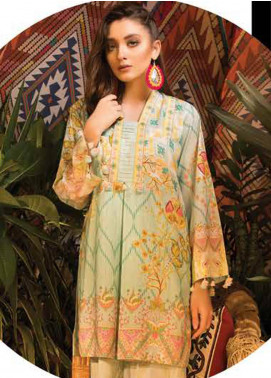 Sapphire Printed Cotton Unstitched 2 Piece Suit Vintage petal B - Autumn - Fall Collection